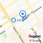 Акомп на карте Барнаула