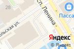 Схема проезда до компании Ключ-сервис в Барнауле