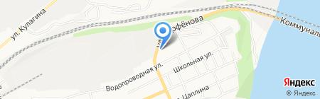 Шашлычный двор на карте Барнаула