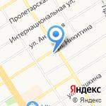 Алинекс ГРУПП на карте Барнаула