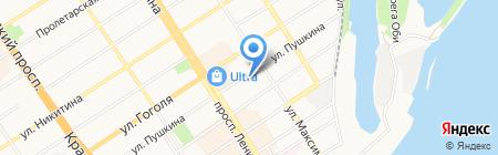 Алтай ТехСервис на карте Барнаула