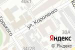 Схема проезда до компании Электронный экспресс в Барнауле