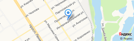 Барнаульский детский дом №8 на карте Барнаула