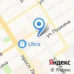 АвтоBEST на карте Барнаула