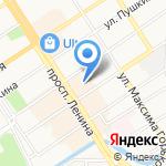 АЛ-Строй на карте Барнаула
