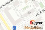 Схема проезда до компании Альфа-Спорт в Барнауле