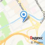 Алтайский дом печати на карте Барнаула