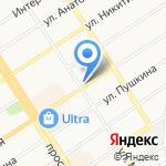 Управление Федеральной службы по надзору в сфере защиты прав потребителей и благополучия человека по Алтайскому краю на карте Барнаула