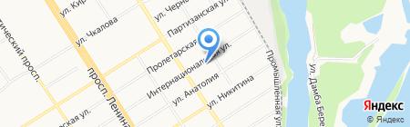 Медиа Сеть на карте Барнаула