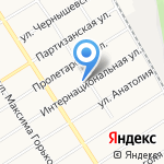 Барнаульский центр помощи детям на карте Барнаула