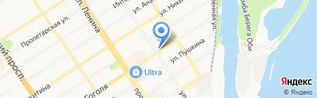 Роспотребнадзор на карте Барнаула