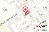 Схема проезда до компании Алтай-Стафф в Барнауле
