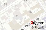 Схема проезда до компании Интерьер-Ткани в Барнауле