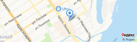 ГРАНД на карте Барнаула