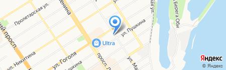Барнаульская Служба Деда Мороза на карте Барнаула