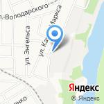 Три медведя на карте Барнаула