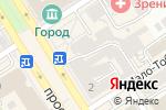 Схема проезда до компании МЕХОВОЙ МИР в Барнауле