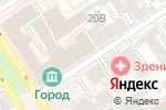 Схема проезда до компании ARTLion в Барнауле
