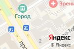 Схема проезда до компании Магазин нижнего белья и колгот в Барнауле