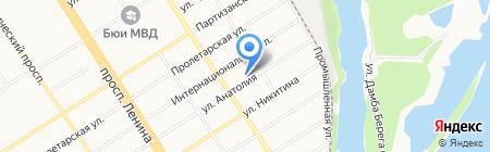 Центр Госзаказа на карте Барнаула