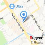 Парфюм22.рф на карте Барнаула