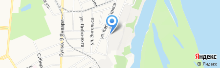 Авент-строй на карте Барнаула