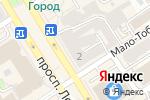 Схема проезда до компании Ломбарды ЮC-585 в Барнауле