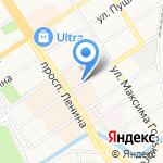 Сервис Деск на карте Барнаула