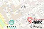 Схема проезда до компании TORI в Барнауле