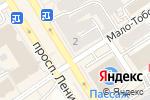 Схема проезда до компании 585 в Барнауле