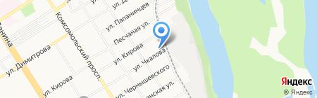 Эконом-ателье на карте Барнаула
