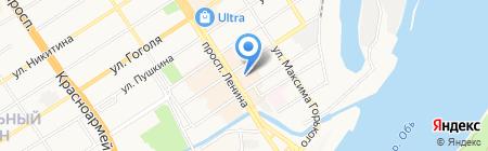 Марина на карте Барнаула