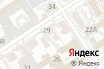 Схема проезда до компании BinCloud в Барнауле