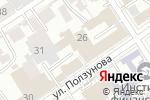 Схема проезда до компании Пакетон в Барнауле
