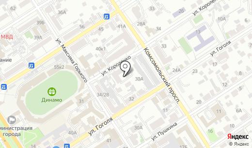 Капучино. Схема проезда в Барнауле