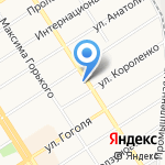 Кедровый Ларец на карте Барнаула