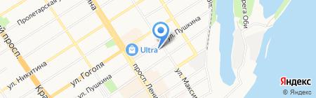 Гурмэн на карте Барнаула
