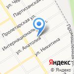 Альфа-Спорт на карте Барнаула