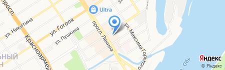 БИНБАНК на карте Барнаула