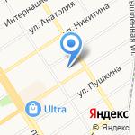 Милосердие+ на карте Барнаула