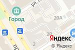 Схема проезда до компании Марина в Барнауле