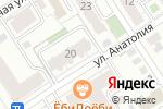 Схема проезда до компании Авангард СертСервис в Барнауле