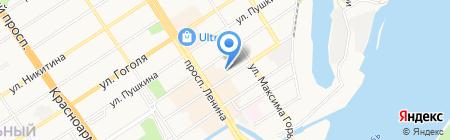 Промтехбизнес на карте Барнаула