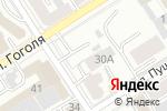 Схема проезда до компании Эдмина в Барнауле