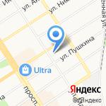 Эдмина на карте Барнаула