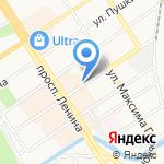 ГазМастер на карте Барнаула