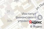 Схема проезда до компании Галина в Барнауле