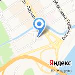 Алтайские теплицы на карте Барнаула