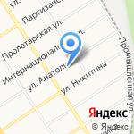 Сибирия на карте Барнаула