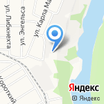 ЕВРОМЕБЕЛЬ на карте Барнаула
